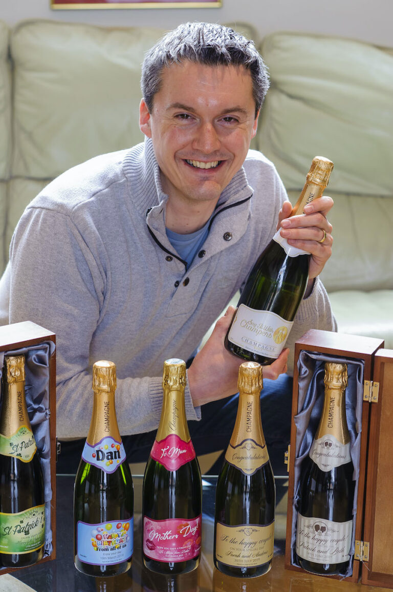 Didier penine from say it with champers